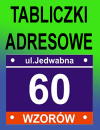 TABLICE ADRESOWE