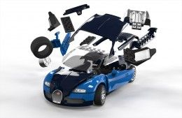 airfix 06008 bugatti veyron quickbuild. Black Bedroom Furniture Sets. Home Design Ideas