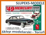 AMT 654 - 49 Mercury Club Coupe - 1/25