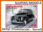 ICM 35476 - Opel Kapitan Saloon 2-door - 1/35
