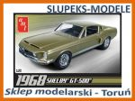 AMT 634 - 1968 Shelby GT500 - 1/25