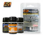 AK-072 - Early Panzers Weathering Set