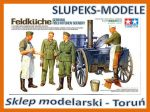 Tamiya 35247 - German Field Kitchen Scenery 1/35