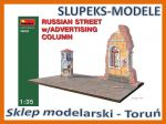 MiniArt 36002 - Russian Street with Advertising Column