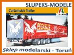 Italeri 3809 - Curtainside Trailer 1/24