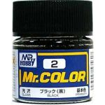 Mr.COLOR C002 - Black - Gloss