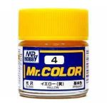 Mr.COLOR C004 - Yellow - Gloss