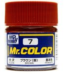 Mr.COLOR C007 - Brown - Gloss