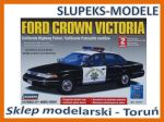 Lindberg 72777 - Ford Crown Victoria California Highway Patrol 1/25