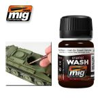 A.MIG-1005 - Brown Wash For Green Vehicles