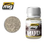 A.MIG-1702 - Turned Earth - Enamel Heavy Mud Texture (35ml)