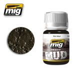 A.MIG-1705 - Wet Mud - Enamel Heavy Mud Texture (35ml)