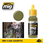 A.MIG-220 - Zinc Chromate Interior Green (17ml)