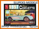 AMT 1016 - 1957 Chevy Corvette Convertible 1/25