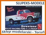 AMT 858 - Ford 1978 4x4 Pickup Firestone Macho Machine - 1/25