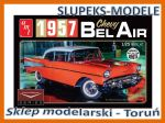 AMT 983 - 1957 Chevy Bel Air (White) 1/25
