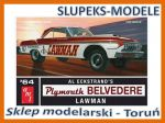 AMT 986 - 1964 Plymouth Belvedere Lawman Super Stock 1/25