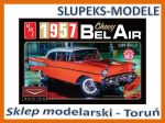 AMT 988 - 1957 Chevy Bel Air (Color) 1/25