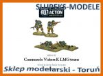 Bolt Action WGB-BI-53 - Commando Vickers K LMG teams 1/56 (28mm)