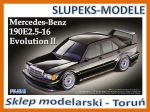 Fujimi 125718 - Mercedes-Benz 190E 2.5-16 Evolution II 1/24
