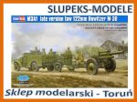 Hobby Boss 84537 - M3A1 Late Version Tow 122mm Howitzer M-30 1/35
