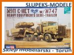 Hobby Boss 85519 M911 C-HET w/m747 Heavy Equipment Semi-Trailer 1/35