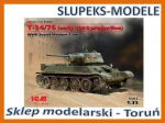 ICM 35365 - T-34/76 (early 1943 production) 1/35