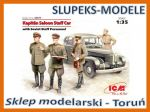 ICM 35477 - Kapitan Saloon Staff Car - 1/35