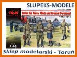 ICM 48084 - Soviet Air Force Pilots and Ground Personnel 1943-1945 1/48