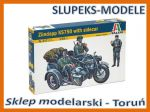 Italeri 0317 - Zundapp KS750 with sidecar