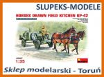 MiniArt 35057 - HORSES DRAWN FIELD KITCHEN KP-42
