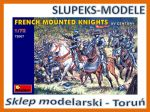 MiniArt 72007 - French Mounted Knights XV Century