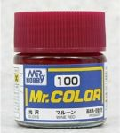 Mr.COLOR C100 - Wine Red Gloss