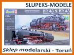 Revell  02157 - Steam Locomotive BR43 T30 i BR43 T32 (1:87)