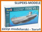 Revell 05093 - German Submarine TYPE VII C 1/350