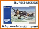 Special Hobby SH 48078 - Fokker D.XXI 1/48