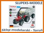 TRONICO 10031 - Massey Ferguson MF-5610 with trailer - 1:32 (700 części)