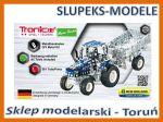 TRONICO 09560 - NEW HOLLAND T5.115 Tractor with trailer - 1:64 (581 części)