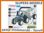 TRONICO 10056 - NEW HOLLAND T4 with trailer - 1:32 (744 części)