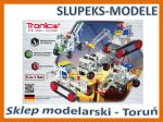 TRONICO 10270 - Vehicles Metal Construction Kit 5w1 (243 części)