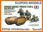 Tamiya 35357 - German Assault Pioneer Team and Goliath Set 1/35