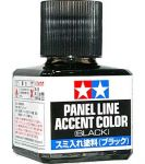 Tamiya 87131 - Panel Line Accent Color (Black) - 40ml