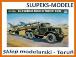 Trumpeter 00204 - SA-2 Guideline Missile on Transport trailer 1/35