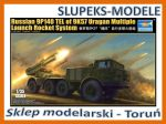 Trumpeter 01026 - 9P140 TEL of 9K57 Uragan 1/35