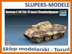 Trumpeter 07123 - German E-50 (50-75 tons) / Standardpanzer 1/72