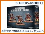 Warhammer 40000 - Adeptus Mechanicus Kataphron Battle Servitors (59-14)
