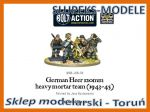 Bolt Action WGB-LHR-06 - German Heer 120mm heavy mortar team (1943-45) 1/56 (28mm)