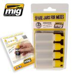 A.MIG-8004 - Spare Jars for Mixes (4szt. x 17ml)