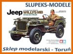Tamiya 35219 - US Jeep Willys MB 1/4 Ton Truck 1/35