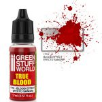 Green Stuff World 1718 Pintura Blood Effect paint - TRUE BLOOD (17ml)